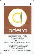 Arterra Hotel Room Key Card - Hotel Keycards