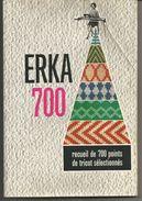 ERKA 700 Recueil De 700 Points De Tricot Sélectionnés - Do-it-yourself / Technical