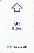 Hilton UK Hotel Room Key Card - Hotel Keycards