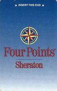 Four Points Sheraton Hotel Room Key Card - Hotel Keycards