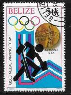 Belize, Scott # 504 Cto Used Olympics, 1980 - Belize (1973-...)