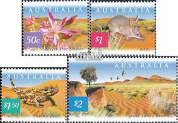 Australien 2138-2141 (kompl.Ausg.) Postfrisch 2002 Natur - 2000-09 Elizabeth II