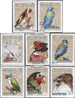 Manama 1040A-1047A (kompl.Ausg.) Postfrisch 1972 Vögel - Manama