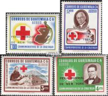 Guatemala 714-717 (kompl.Ausg.) Postfrisch 1964 Weltausstellung - Guatemala
