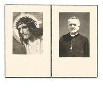 P 355. E.H. EMIEL PEETERS - °ST-TRUIDEN 1888 / LUIK / BRESSOUX / VILLERS L' EVÊQUE / HOEI / ANTHISNES / VELM / +1961 - Imágenes Religiosas