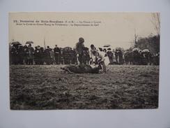 77 FONTENAILLES Domaine De BOIS-BOUDRAN Curée Au Grand Etang De VILLEFERMOY Chasse à Courre Dépouillement Du Cerf - Chasse