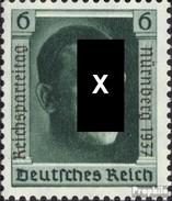 Deutsches Reich 650 (kompl.Ausg.) Mit Falz 1937 Parteitag - Deutschland