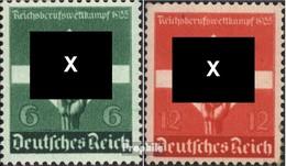 Deutsches Reich 571-572 (kompl.Ausg.) Mit Falz 1935 Berufswettkampf - Deutschland