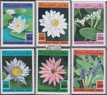 Afghanistan Mi.-Nr.: 1733-1738 (kompl.Ausg.) Postfrisch 1997 Wasserpflanzen - Afghanistan