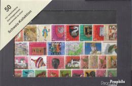 Schweiz Briefmarken-50 Verschiedene Zuschlagsmarken - Lotti/Collezioni