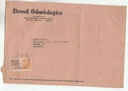 1934 BRAZIL Stamps COVER BRAZIL ODONTOLOGICO Dentistry To GB Health Medicine Dental Magazine - Brazil