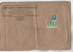 1934  ARGENTINA Stamps COVER REVISTA ODONTOLOGICA Dentistry To GB Health Medicine Dental Magazine - Argentina