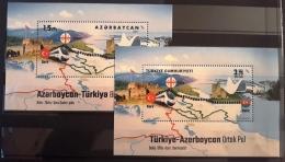 Azerbaijan-Turkey 2017. Joint Issue. Both Stamps - Azerbaïjan