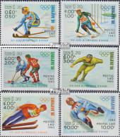Laos 661-666 (kompl.Ausg.) Postfrisch 1983 Olympische Winterspiele 1984 - Laos