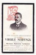 DP Foto Virgile Neirynck ° Ingelmunster 1879 † 1921 X M. Vermeulen - Images Religieuses