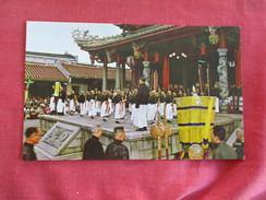 > Taiwan     Taipei- Confucian Temple Ref 2745 - Taiwan