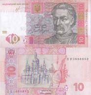 Ukraine Pick-Nr: 119A C Bankfrisch 2013 10 Hryven - Ukraine