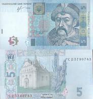 Ukraine Pick-Nr: 118d Bankfrisch 2013 5 Hryven - Ukraine