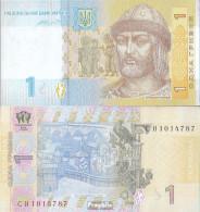 Ukraine Pick-Nr: 116A C Bankfrisch 2014 1 Hryven - Ukraine