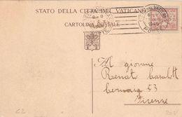 """VATICANO - INTERO POSTALE """"CONCILIAZIONE"""" - 1929 - 75 C. - CATALOGO FILAGRANO """"C2"""" - USATO / USED - Interi Postali"""