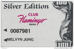 Flamingo Hilton Casino Reno, NV - Slot Card - Casino Cards