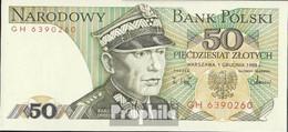 Polen Pick-Nr: 142c (1986) Bankfrisch 1986 50 Zloty - Polen