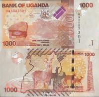Uganda Pick-Nr: 49c Bankfrisch 2015 1.000 Shillings - Uganda