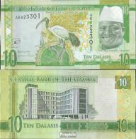 Gambia Pick-Nr: 32 Bankfrisch 10 Dalasis - Gambia