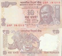 Indien Pick-Nr: 102r (h) Bankfrisch 2014 10 Rupees - Indien