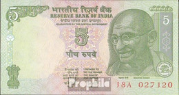 Indien Pick-Nr: 88A D Bankfrisch 2002 5 Rupees - Indien
