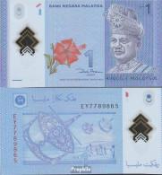 Malaysia Pick-Nr: 51 Bankfrisch 2012 1 Ringgit - Malaysia
