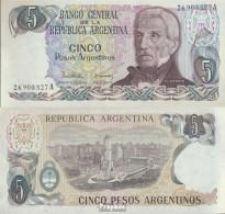 Argentinien Pick-Nr: 312a Bankfrisch 1986 5 Pesos - Argentinien