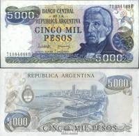 Argentinien Pick-Nr: 305b Bankfrisch 1977 5.000 Pesos - Argentine