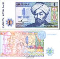 Kasachstan Pick.Nr: 7a Bankfrisch 1993 1 Tengé - Kasachstan