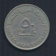 °°° UAE UNITED ARAB EMIRATES - 50 FILS 1973 °°° - Emirati Arabi