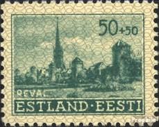 Estland (Dt.Bes.2.WK.) 7 Postfrisch 1941 Gebäude - Besetzungen 1938-45