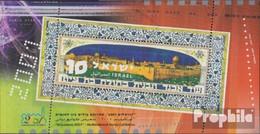 Israel Block63 (kompl.Ausg.) Postfrisch 2001 Briefmarkenausstellung - Israel