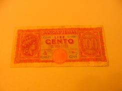 ITALY - ITALIA BANKNOTE 100 LIRE G205 - 100 Lire