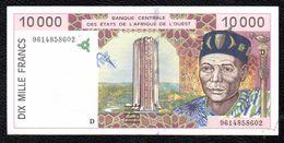 10000F CFA MALI FAUX COUNTERFEITH - Mali