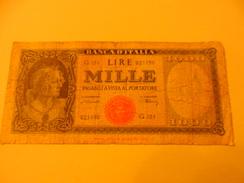 ITALY - ITALIA BANKNOTE  1000 LIRE G151 - [ 2] 1946-… : Repubblica