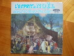 Ancien Disque Vinyle L'Esprit De Noël Par Le Petit Choeur Collège De Montreux - Christmas Carols