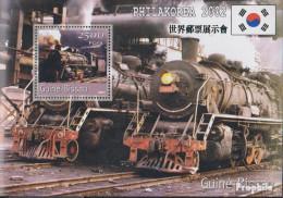 Guinea-Bissau Block361 Postfrisch 2001 Transport- Und Verkehrsmittel - Guinea-Bissau
