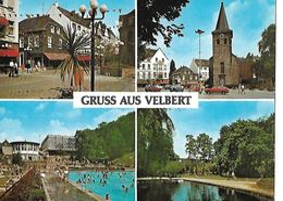 CPSM/gf  VELBERT (Allemagne). Gruss Aus Velbert, Multivues. ..A551 - Velbert