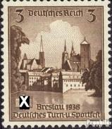 Deutsches Reich 665 Postfrisch 1938 Dt. Turnfest - Deutschland