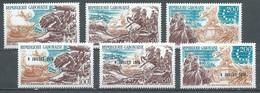 Gabon Poste Aérienne YT N°178/180 Et 181/183 Indépendance Des Etats-Unis Neuf ** - Gabun (1960-...)