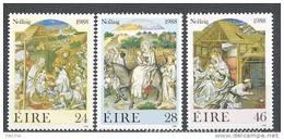 Irlande 1988 N°668/670 Neufs ** Noël - 1949-... République D'Irlande