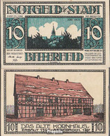 Bitterfeld Notgeldschein Der Stadt Bitterfeld Bankfrisch 1921 10 Pfenning Bitterfeld - [ 3] 1918-1933 : Weimar Republic