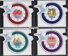 Tonga 1564-1567 (kompl.Ausg.) Postfrisch 2000 Jahrtausendwende - Tonga (1970-...)
