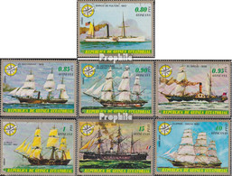 Äquatorialguinea 998-1004 (kompl.Ausg.) Postfrisch 1976 Schiffe - Guinea Equatoriale