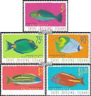 Kokos-Inseln 357-361 (kompl.Ausg.) Postfrisch 1997 Fische - Kokosinseln (Keeling Islands)